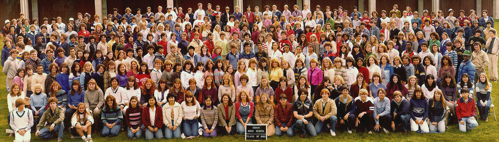 Gunn High School Class of 1982
